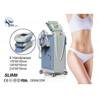 Wholesale 4 Handpieces Cold Lipolysis Criolipolisis Slimming Machine , Body Weight Loss Sculpting Machine from china suppliers
