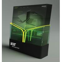 Wholesale Retail POS Plastic Display Stands For The Products Brochure with LED from china suppliers