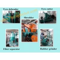 Wholesale Scrap Rubber Tire Recycling Line/Used Tyre Recycling Equipment Price from china suppliers