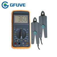 Wholesale ELECTRICAL DOUBLE CLAMP PORTABLE DIGITAL PHASE ANGLE METER WITH 10A CURRENT CLAMP from china suppliers