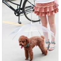 Wholesale Pet hapibrother pet umbrella dog umbrella raincoat from china suppliers