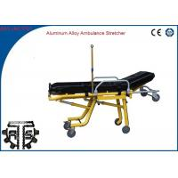 Wholesale Ambulance Stretcher Foldable Automatic Loading Stainless Steel for Outdoor Rescue from china suppliers