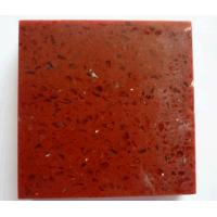 Wholesale Silver Red Quartz Stone for kitchen countertop from china suppliers