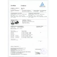 NINGBO BANMA ELECTRICAL APPLIANCE CO .,LTD Certifications