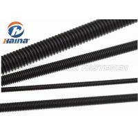 Wholesale Black Finished All Threaded Bar , Grade 5 Grade 8 Full Black Threaded Rod from china suppliers