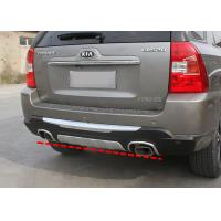 Wholesale Custom Bumper Protector For KIA Sportage 2007 Rear Bumper Guard with Chrome Trim from china suppliers