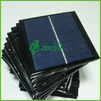 Wholesale 3V 750mA Laminated PET Epoxy Resin Solar Panel With UV Protected / Scratch Resistance from china suppliers