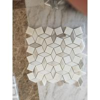 Wholesale CALACATTA GOLD MARBLE POLISHED & BEVELED BRICK MOSAIC TILE CALACATTA GOLD MARBLE MOSAIC  WALL & FLOOR TILE from china suppliers