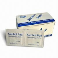 Wholesale Alcohol Pad, Available in Various Sizes from china suppliers