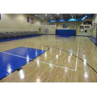 Wholesale Manchurian Ash Sports Wooden Flooring , Eco Friendly Gym Hardwood Flooring from china suppliers