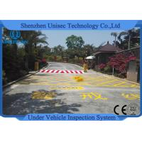 Buy cheap DC24v Automation Under Vehicle Inspection System Uvss Integrated With Anpr from wholesalers