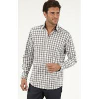 Quality Men's Casual Shirts » Men's Long Sleeve Cotton Oxford Check Casual Shirts for sale