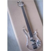 Wholesale Top Quality Factory Custom 4 string crystal electric bass transparent acrylic Body from china suppliers