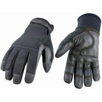 Wholesale EN388 Customerized Black Latex Coated mens winter work gloves for warehousing from china suppliers