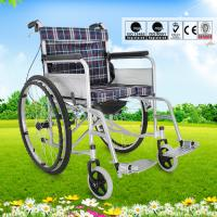 Wholesale Ultra Lightweight Manual Wheelchair For Old Person Oxford Fabric Cushion from china suppliers