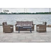 Buy cheap Indoor Outdoor Rattan Garden Table With Sofa Set For Poolside / Beach from wholesalers