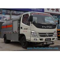 Wholesale 5 Speed Foton 4 x 2 Refuelling Chemical Tanker Truck With Air Braking from china suppliers