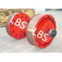 Wholesale 10ton 20ton Smooth Wire Rope Winch Drum With Split Type Lebus Groove Sleeve from china suppliers