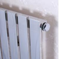 Wholesale 600 X 1200 Horizontal Heated Towel Radiator , Hydronic Heated Towel Rack from china suppliers