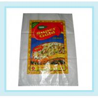 Wholesale Offset Printing Plastic BOPP Laminated Bags PP Woven Sacks For Rice / Wheat from china suppliers
