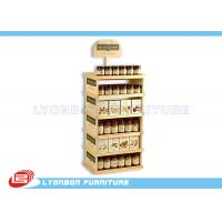 Wholesale Supermarket Pine Wood Gondola End Display ODM For Can food , Color Painted from china suppliers
