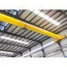 Buy cheap 5 ton Motor Driven  single girder electric hoist bridge overhead crane from wholesalers