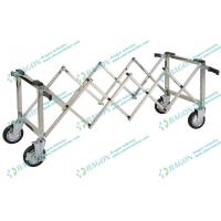 Wholesale Stainless Steel Funeral Equipment , Church Coffin Trolley with Handles from china suppliers