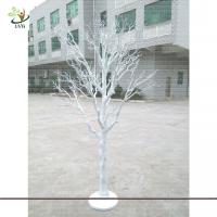 Wholesale UVG DTR13 8ft artificial white dried tree decoration for party and wedding landscaping from china suppliers