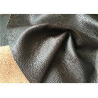 Buy cheap Automotive leather with grain made with natural leather fibres and water power from wholesalers