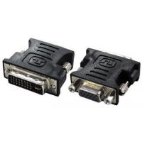 Quality DC 30V Black Male Female Cable Connector HDMI DVI Adapter With PVC Housing for sale