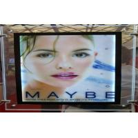 Wholesale 1.7cm A4 Desktop Transparent Crystal LED Light Box Rectangle Acrylic Single-Sided from china suppliers