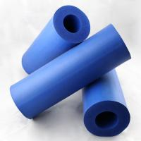 Wholesale Durable Flexible Silicone Sponge Extrusion Silicone Foam Tube / Silicone Pipe from china suppliers