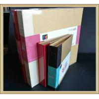 Wholesale OEM Office products eco-friendly Ring Binder with kraft cover and cloth book spine from china suppliers
