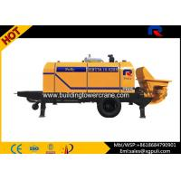 Wholesale 0.6M3 Hopper Volume Diesel Concrete Pump PLC Control With Air Cooling System from china suppliers
