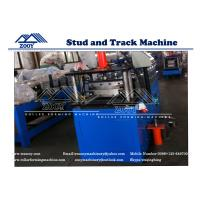 Wholesale OMEGA Stud Roll Forming Machine 0.5mm - 1.5mm Galvanized Steel from china suppliers