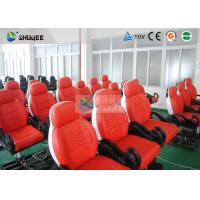 Quality New 5D movie theater , Thrilling Motion Chairs And Special Effect for sale