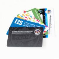 Wholesale Hotel Magnetic PVC Plastic Business Cards / Membership Card Double Side Printing from china suppliers
