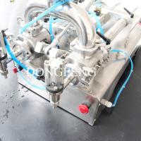 Wholesale Bottle Filler / Liquid Filler Machine Double Nozzles Juice Vial Filling Machine from china suppliers