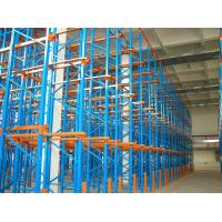 Wholesale Warehouse Steel Drive In Pallet Racking System , Industrial Rack Shelving from china suppliers