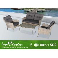 Wholesale Beach Style Rattan Patio Seating Sets Backyard Furniture Outdoors Garden from china suppliers