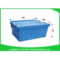 Wholesale Storage Containers With Attached Lids 43L , Warehouse Heavy Duty Storage Boxes from china suppliers