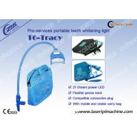 Wholesale Blue Cool Light Teeth Whitening Machine For Yellow / Black / Brown / Coffee Teeth Removal from china suppliers