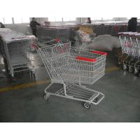 Wholesale Singel Basket Supermarket Shopping Cart With Low Rack Welded from china suppliers
