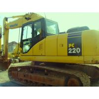 Wholesale Used KOMATSU PC220-7 Excavator /Used KOMATSU Excavator from china suppliers