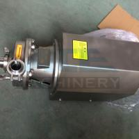 Wholesale SS304 316L Double Flushed Water Pump Centrifugal  304 316 beer pump from china suppliers
