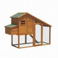 Wholesale Poultry House, Sloping Roof Covered in Asphalt, Also Suitable for Ducks from china suppliers