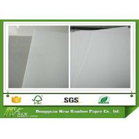 Wholesale Strong and Folding Resistance Whiteboard Paper One Side Offset Paper with Grey Back from china suppliers