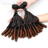 Wholesale Professional Unprocessed Funmi Virgin Hair 16 Inch Ombre Spiral Curl from china suppliers