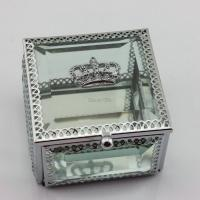 Wholesale Wedding Gifts Glass Crown Jewelry Box from china suppliers