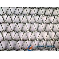 Wholesale Round Spiral Wire + Crimped Rod Wire Structure, Spiral Weave Mesh With SS & Al from china suppliers